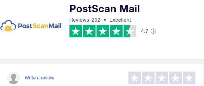 PostScan Mail Reviews | Trustpilot